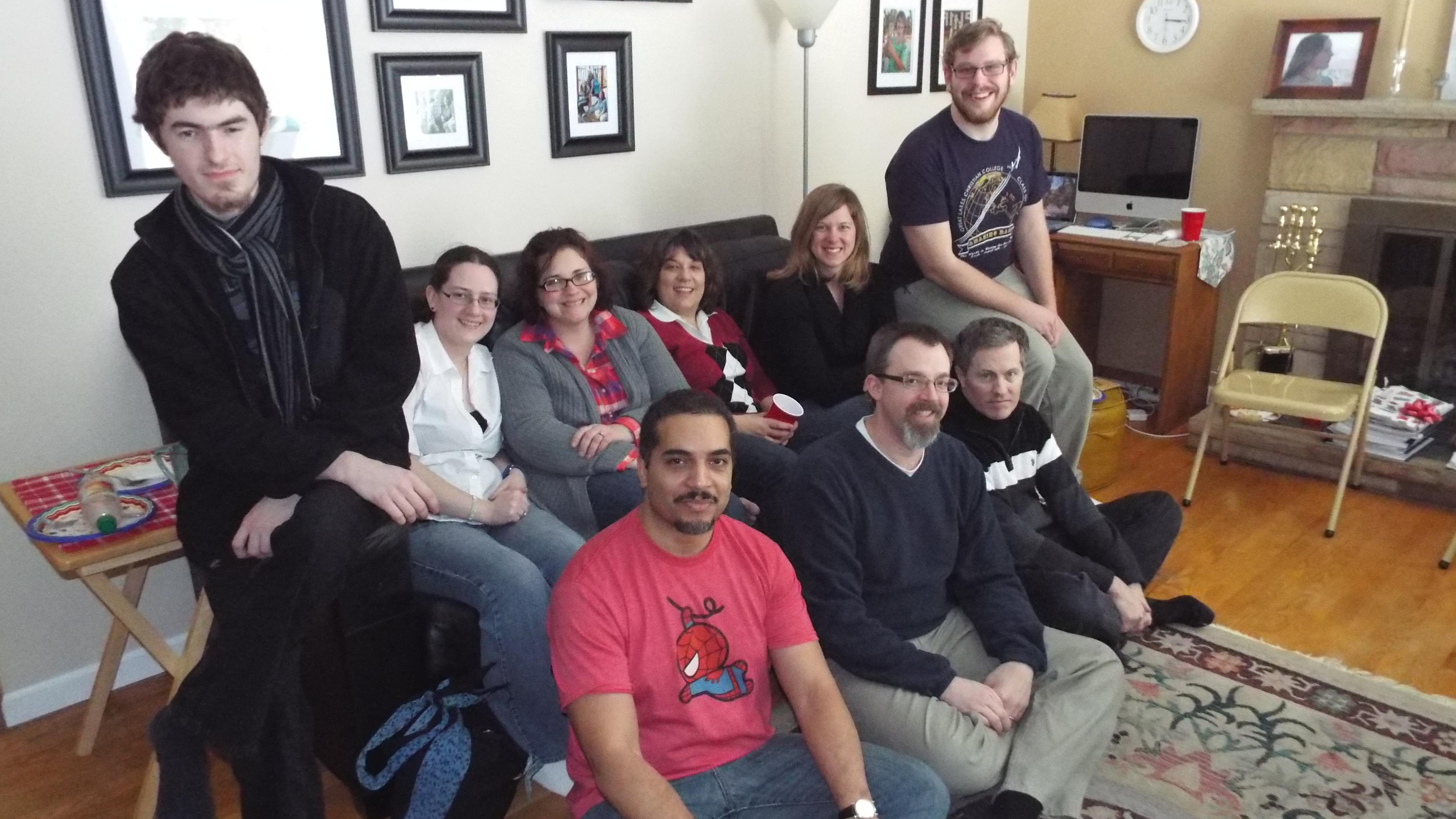 Erotic writers group
