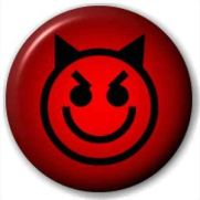 devil button