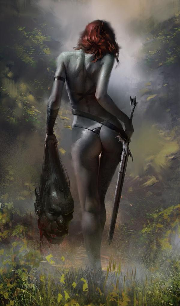 воин женщина